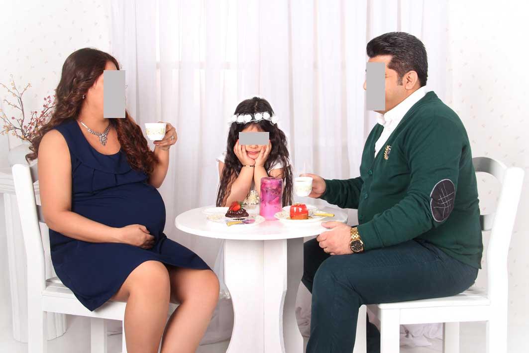 عکاسی بارداری دورا Pregnancy photography during pregnancyن حاملگی (5) استودیو الیزه