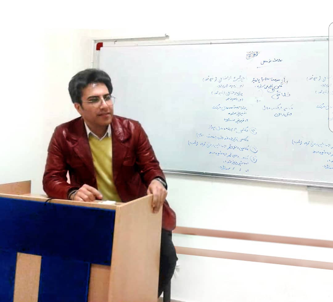 آموزش عکاسی و تصویربرداری توسط استاد سهراب نعیمی