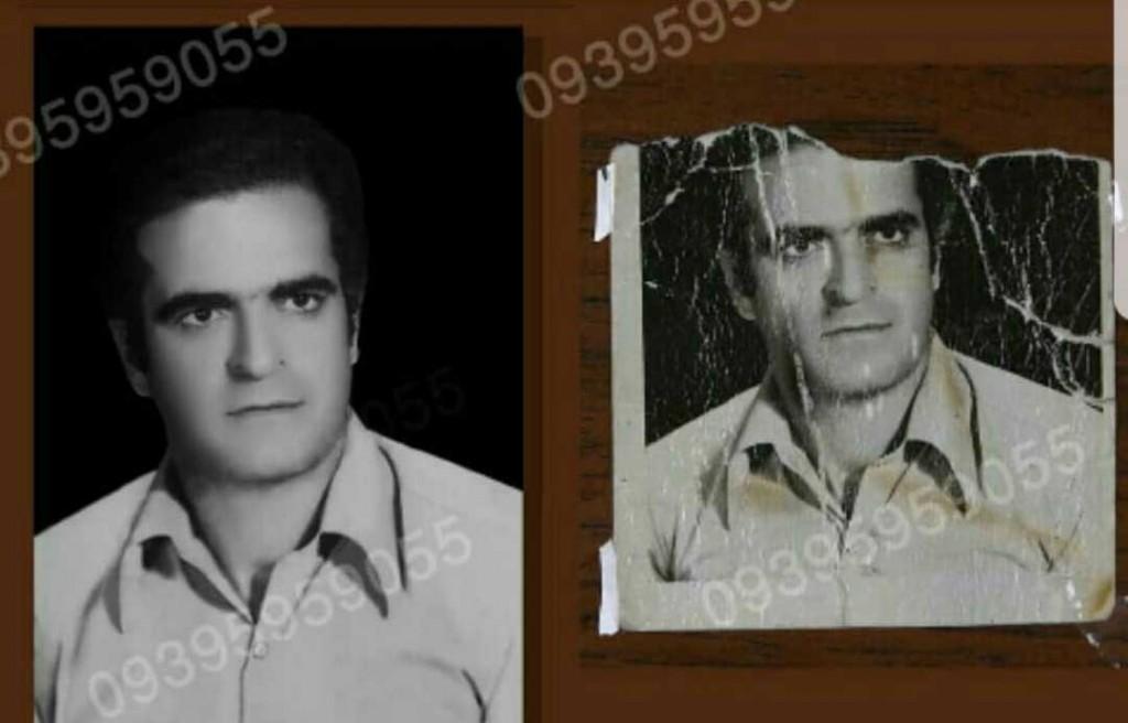 بازسازی عکسهای قدیمی ترمیم عکس و رنگی کردن عکس توسط سهراب نعیمی آتلیه الیزه