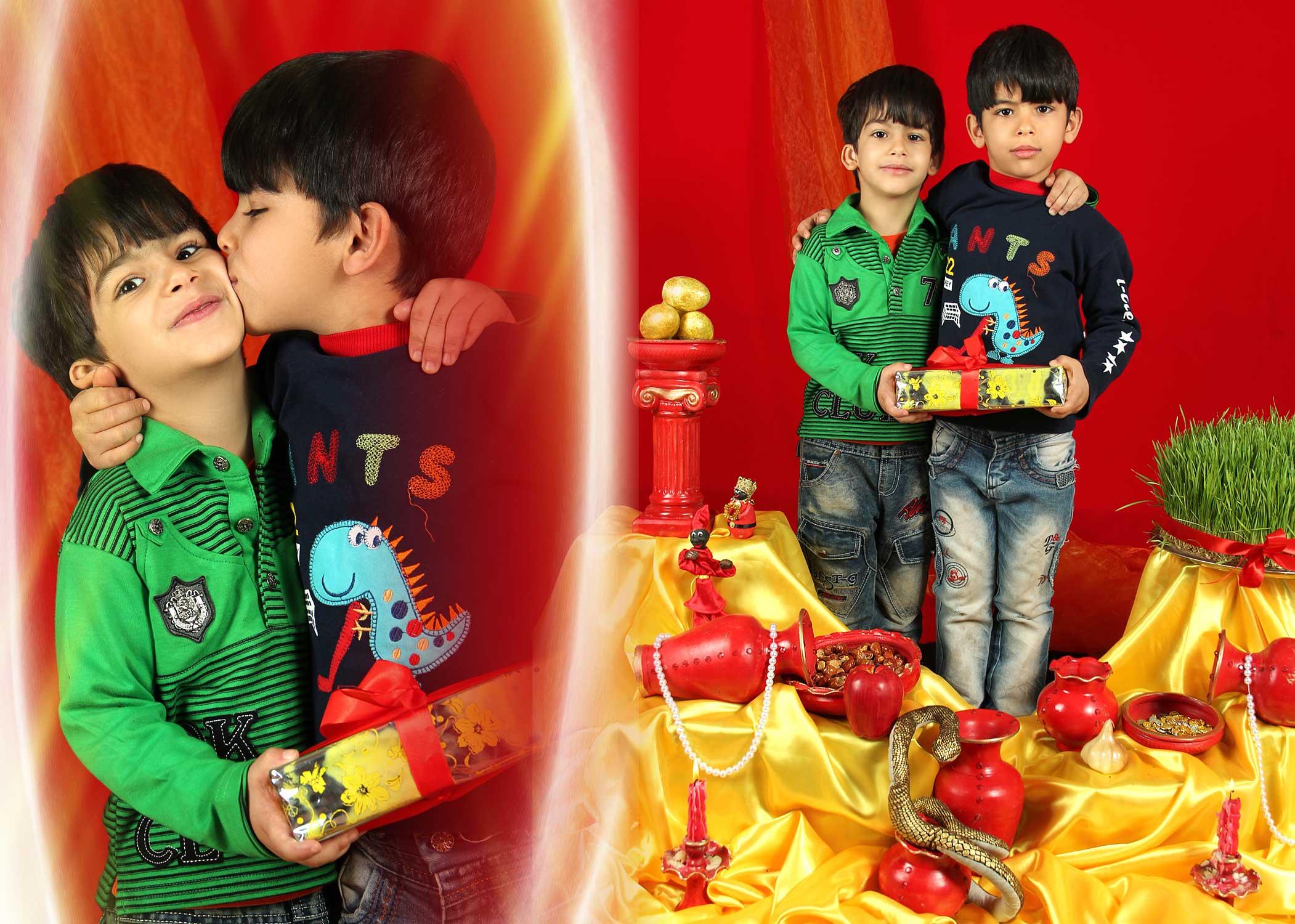 عکس نوروز و عکس عید در مدارس دکور نوروز با دکور قرمز توسط سهراب نعیمی مهدکودکها عکس کودک دکور خاص