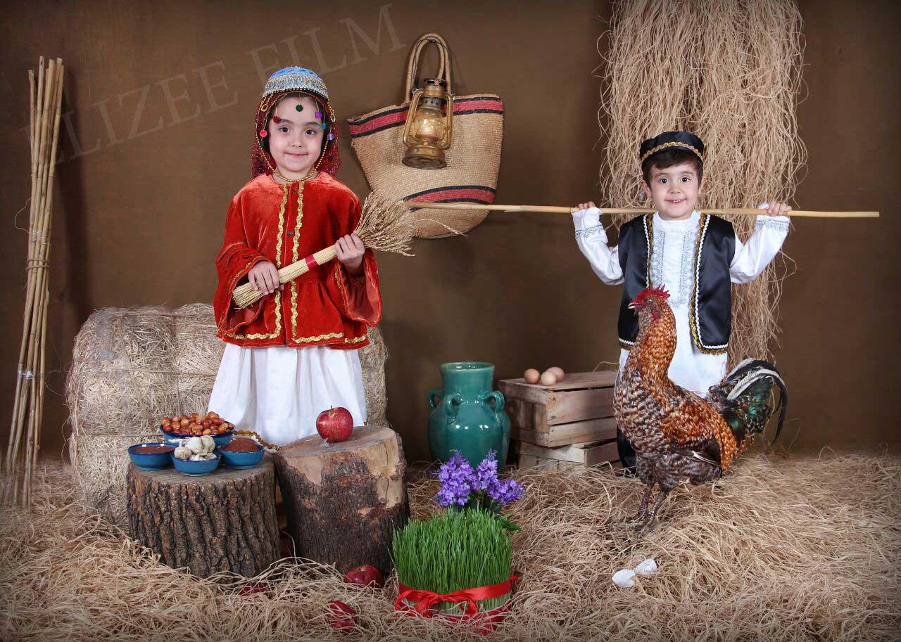 عکس مدارس دکور نوروز و عید مهدکودک دبستان توسط سهراب نعیمی