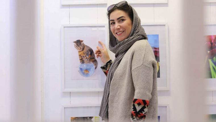 نمایشگاه ملیحه نعیمی(یلدا) در گالری الیزه