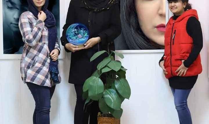 نمایشگاه پوپک خواجه امیری