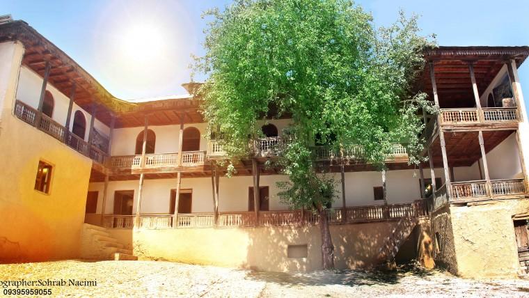 عکاسی از آلاشت خانه پدری رضا شاه توسط سهراب نعیمی