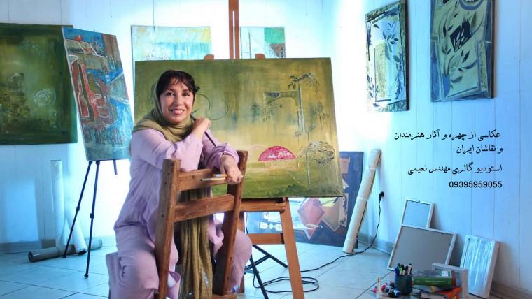 عکاسی از هنرمندان و آثار هنری توسط سهراب نعیمی(کارشناس ارشد عکاسی)